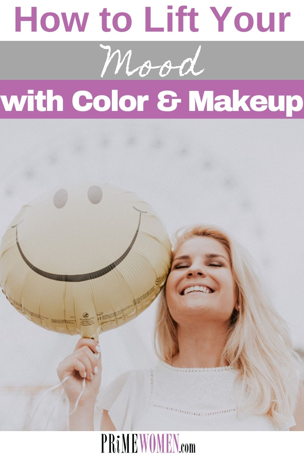 How to lift your mood with color and makeup.