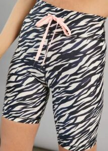 The Upside Zebra Bike Shorts