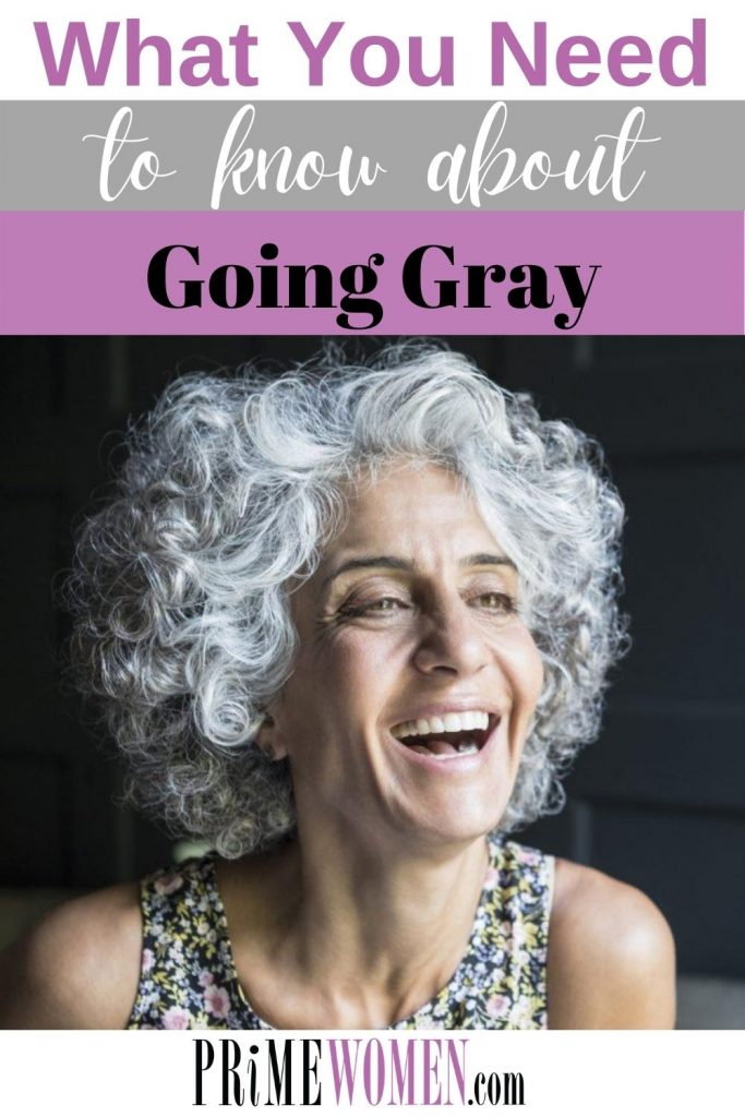 What you need to know about going gray