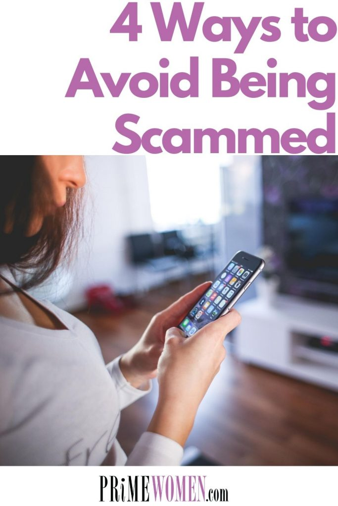 4 ways to avoid being scammed