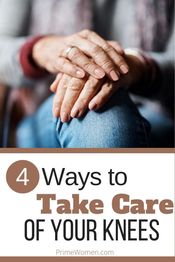 4 ways to take care of your knees