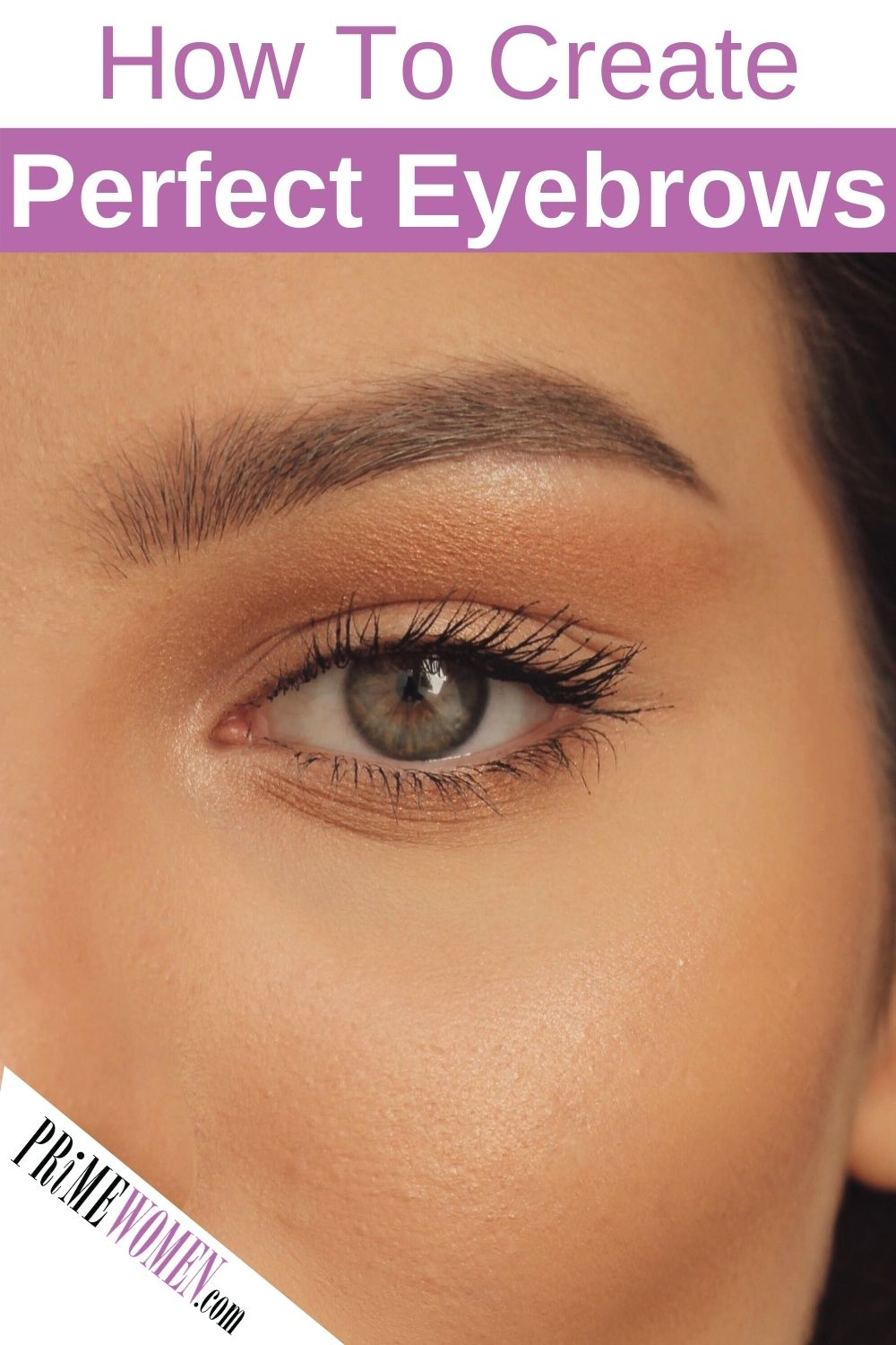 How to create perfect eyebrows