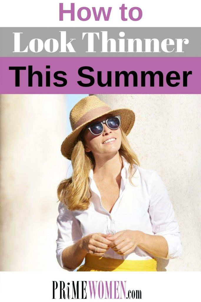 How to look thinner this summer