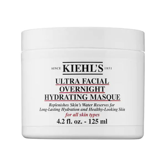 Best Facial Masks For Dry Skin: Kiehl's ultra facial overnight hydrating masque