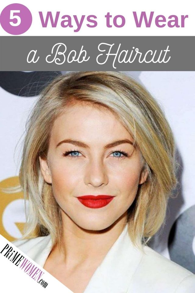 5 Ways to Wear a Bob Haircut