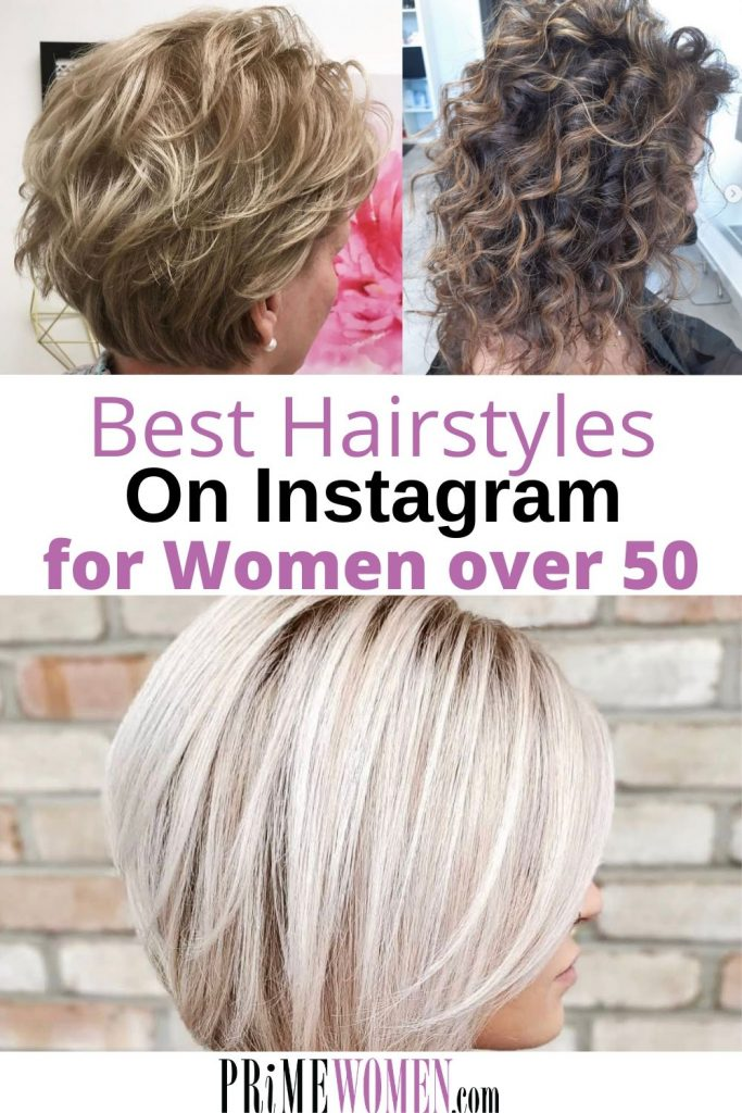 Best Hairstyles on Instagram for Women over 50