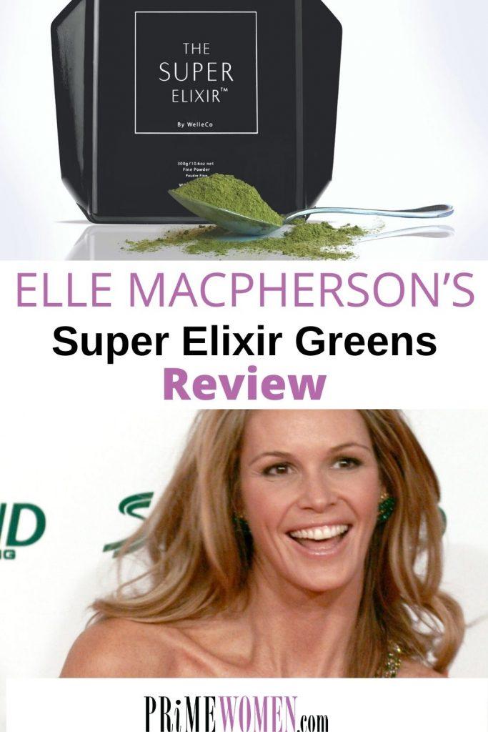 ELLE MACPHERSON'S SUPER ELIXIR GREENS review