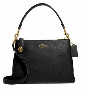 Coach Pebble Leather Crossbody Bag