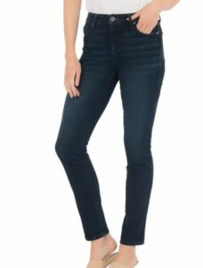 Diana Ab Fab High Waist Relaxed Skinny Jeans