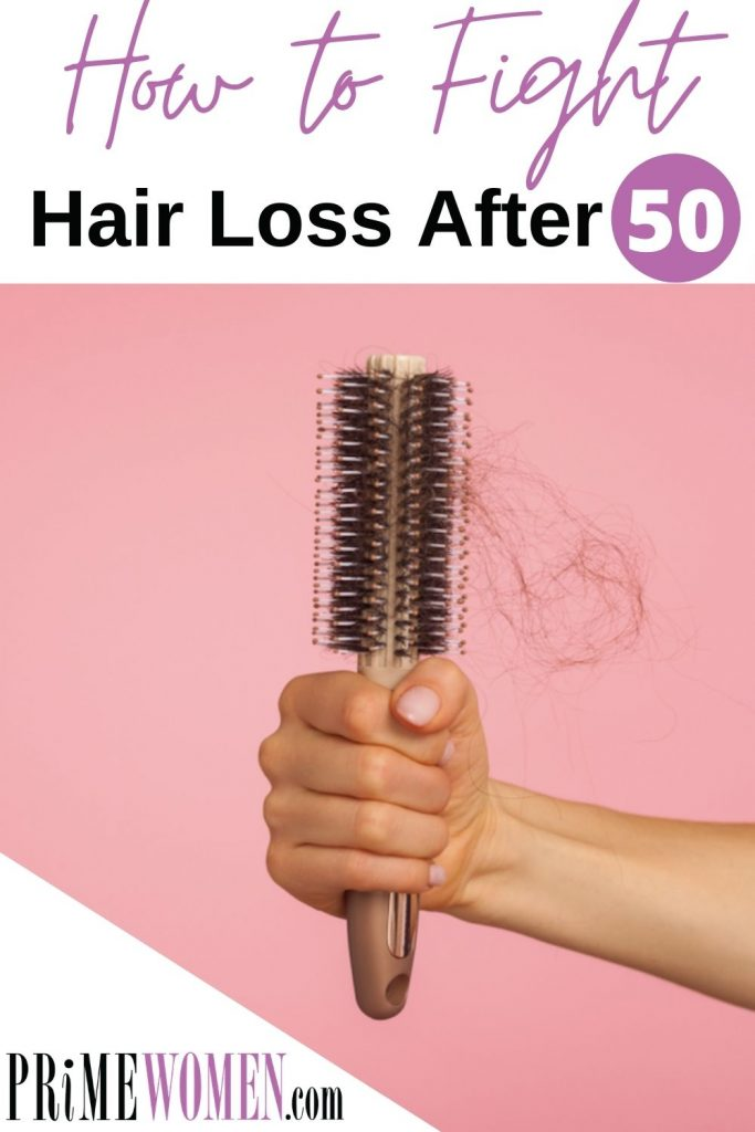 How to fight hair loss after 50