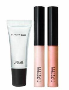 MAC Travel Size Lipglass Lip Gloss Set