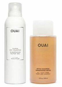 Ouai Super Dry & Detox Shampoo Set