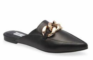 Steve Madden Finn Chain Pointed Toe Mule