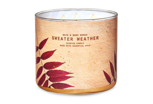 great fall candle