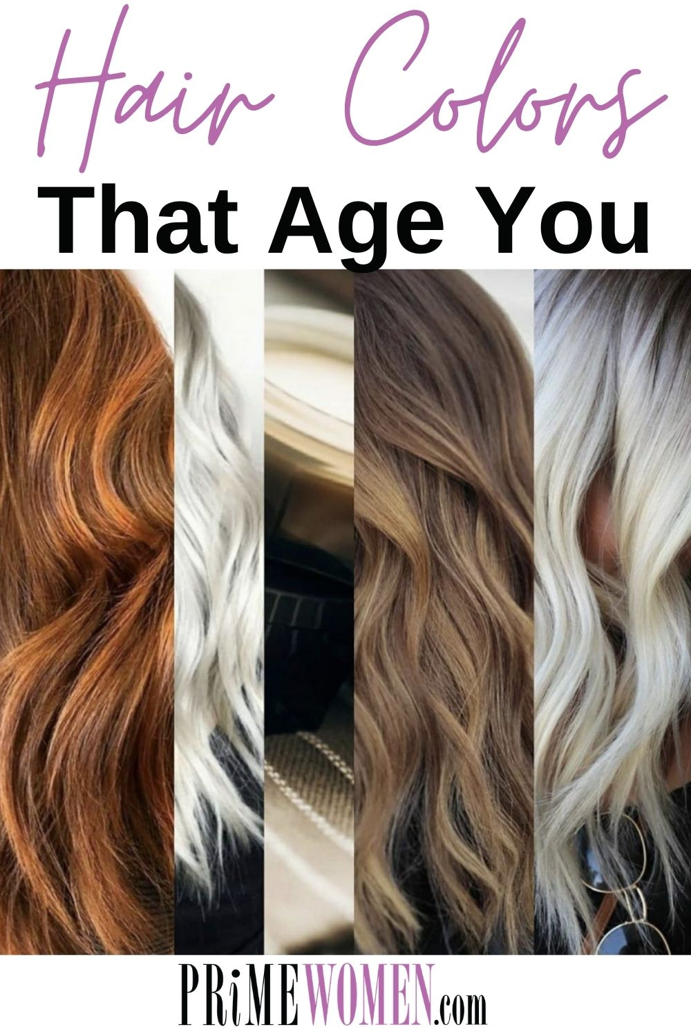 Avoid hair colors that age you!