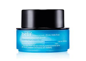 belief moisturizing eye bomb