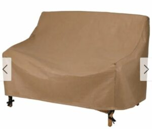 Duck Covers Essential Patio Loveseat Cover