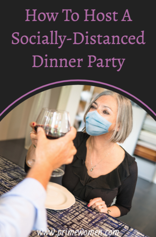 How to host a socially distanced dinner party