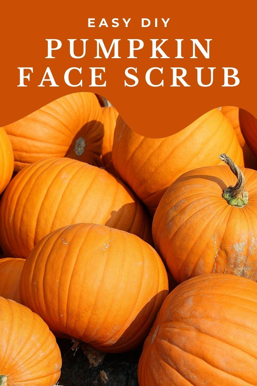 How to make a Pumpkin Face Scrub