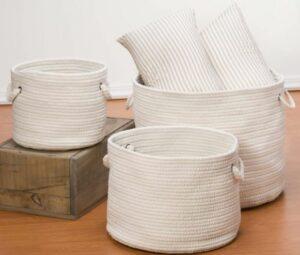 Indoor/Outdoor Woven Baskets