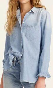 JCREW Classic-fit chambray shirt