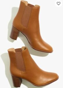 Madewell The Laura Chelsea Boot in Leather