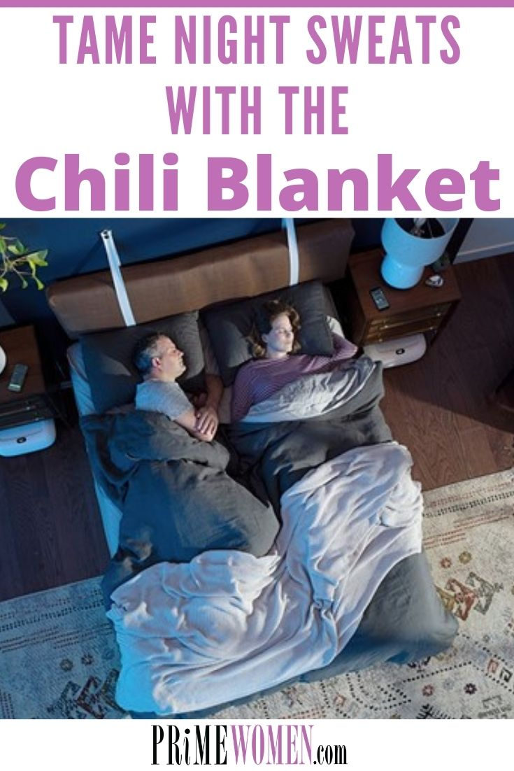 Tame night sweats with the Chili Blanket