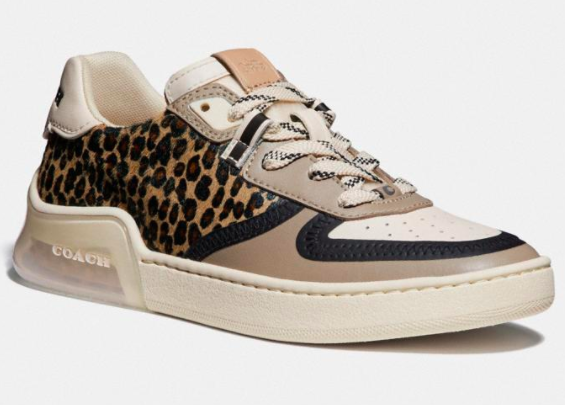 animal print sneakers for fall