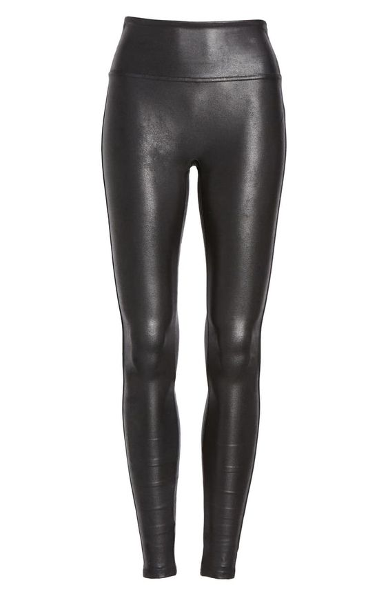 fall style faux leather leggings