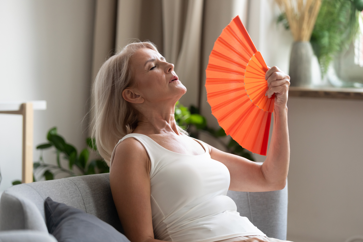hot flashes are a part of menopausal symptoms
