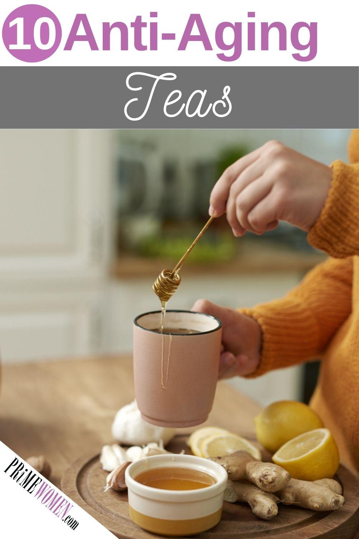 10 Anti-aging teas