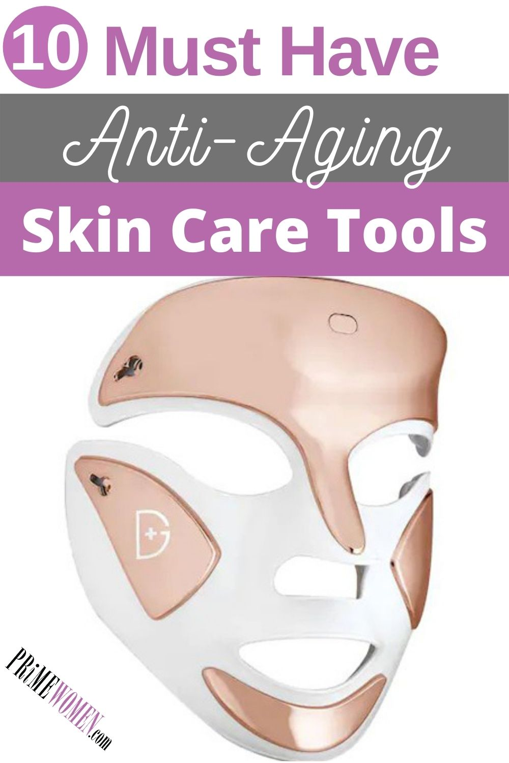 10 Must-have anti-aging skin care tools