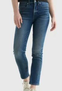 High Rise Zoe Straight Jean