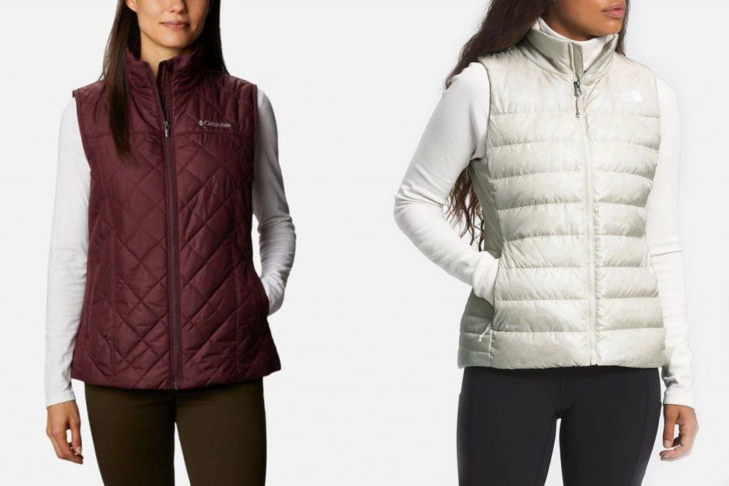 warmest puffer vests