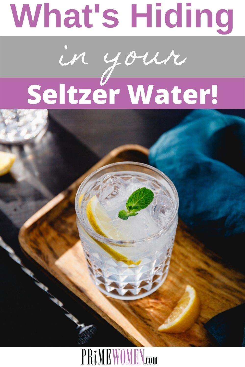 What's hiding in your seltzer water?