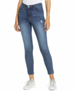 Ab-Solution Luxe Touch High Waist Ankle Skinny Jeans