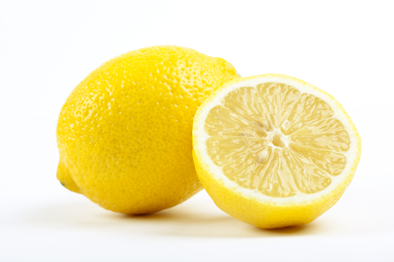 Lemons to indicate citrus essential oils for purifying your home