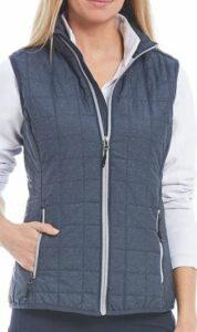 Cutter and Buck Rainier PrimaLoft® Eco Insulated Full Zip Packable Puffer Vest