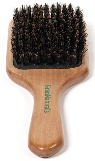 GranNaturals Boar Bristle Hair Brush