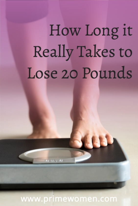 Find out how long it really takes to lose 20 pounds.