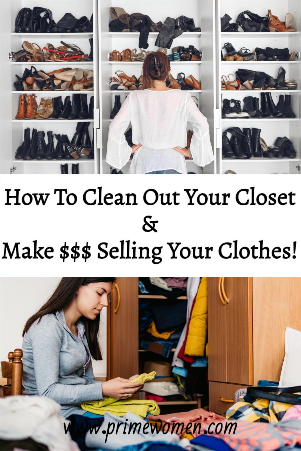 How To Clean Out Your Closet (And Make $$$ Selling Your Clothes!