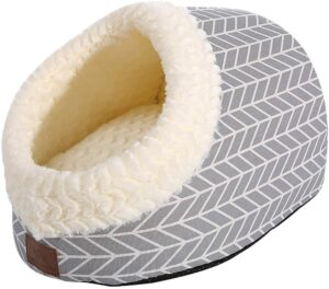Miss meow cat cave bed and gifts for pets