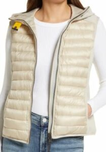 Parajumpers Nikky Hooded Puffer Vest