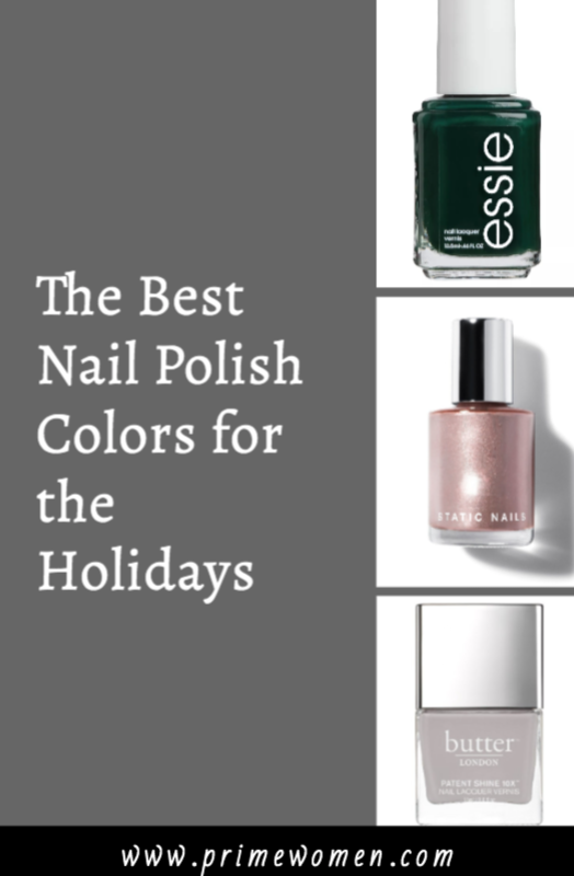 The best nail polish colors for the holidays