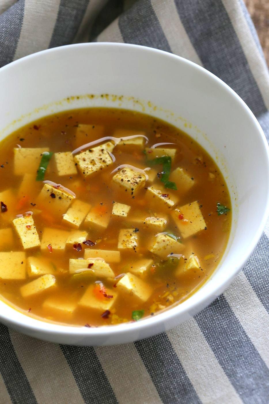 anti-inflammatory soups