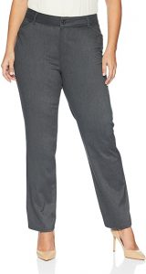 LEE Women's Plus Size Relaxed Fit All Day Straight Leg Pant, $29.90