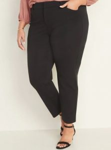 High-Waisted Plus-Size Pixie Pants, $39.99