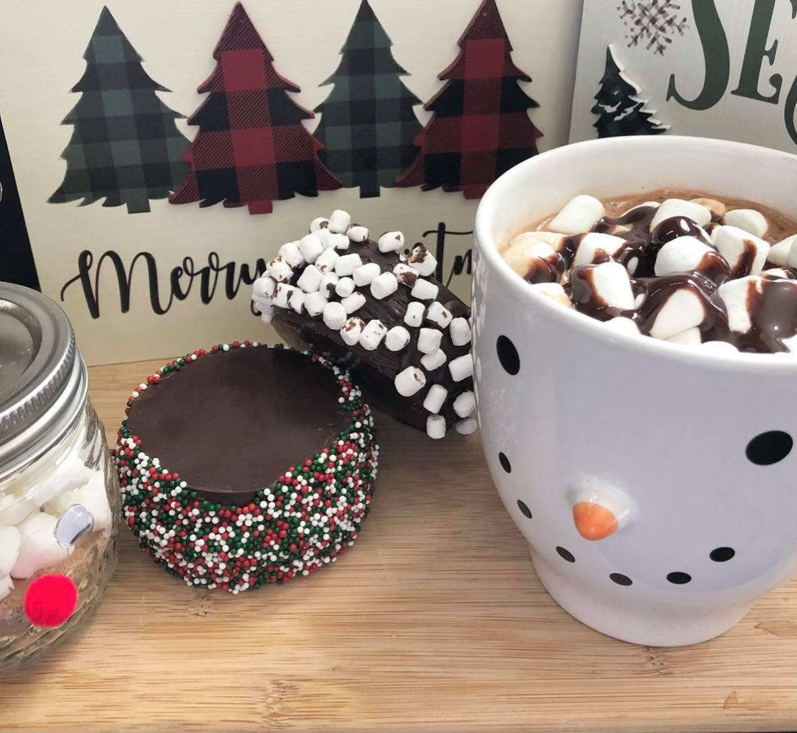 How to make hot chocolate bombs step by step