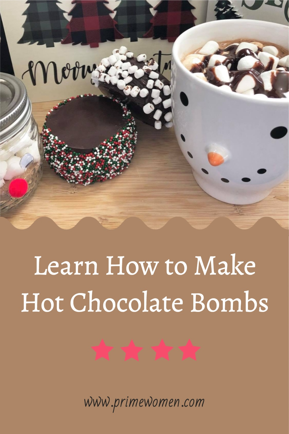 Learn how to make Hot Chocolate Bombs