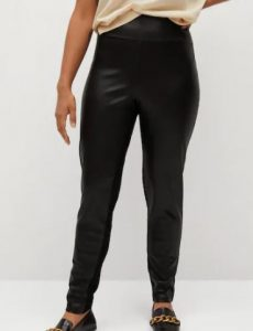 Contrasting design leggings, $59.99
